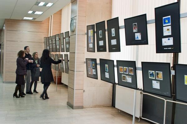 """PTK hap ekspozitën e pullave postare """"2000-2010"""""""