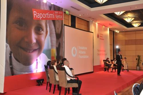 Fondacioni Vodafone Albania prezanton raportin vjetor