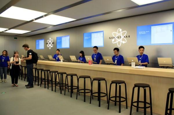 Apple hap dyqan të ri në Shanghai