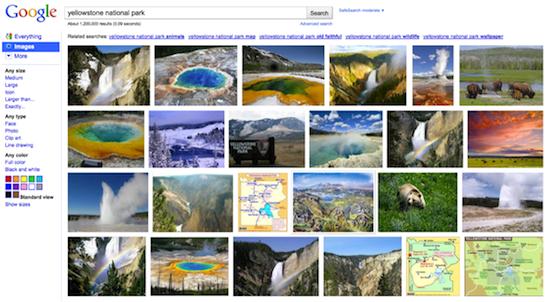 Google ndryshon rezultatet e kërkimeve për imazhe