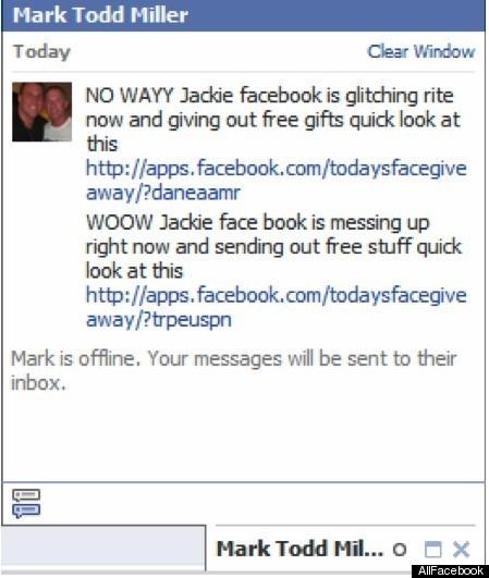 Kujdes nga porositë që merrni në Facebook chat
