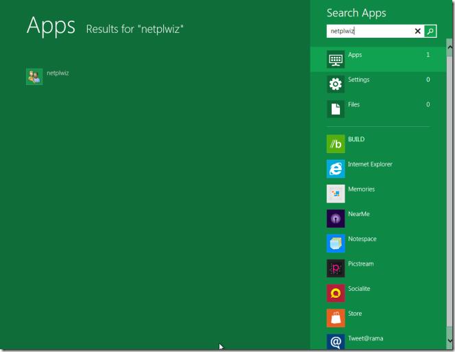 Si të kyçeni automatikisht në Windows 8?