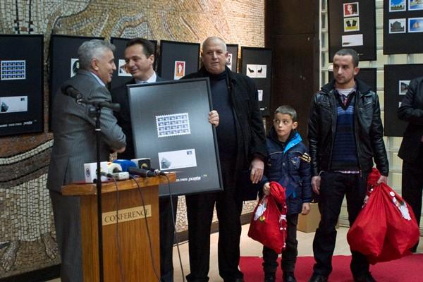 Heroi i Kosovës, Enver Zymeri në pullë postare