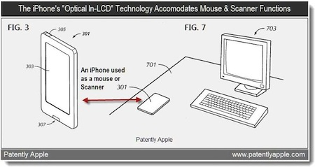 Patenta nga Apple mëton të skanojë dokumentet