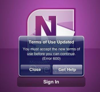 OneNote për iPad