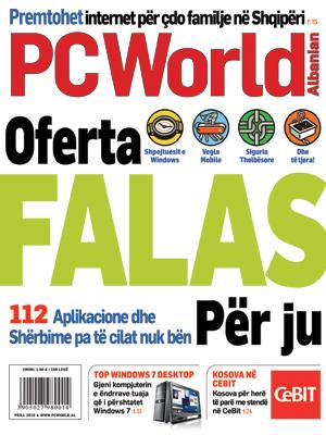PCWorld Albanian – Prill 2010