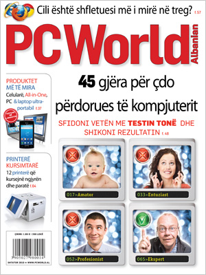 PC World Albanian – Shtator 2010