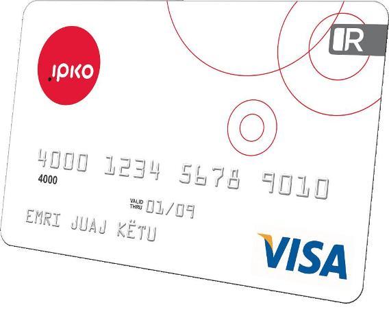 IPKO prezantoi prepaid Visa kartelën