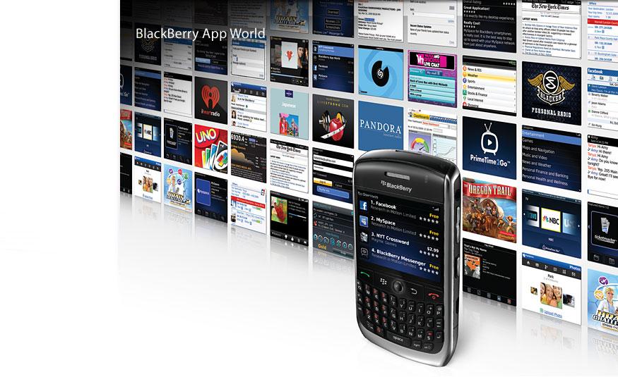 Aplikacionet e BlackBerry tani edhe në Australi