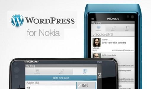 Nokia tani ka aplikacionin e vet të WordPress