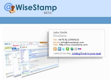 Si të krijoni një nënshkrim profesional për emailin tuaj me WiseStamp?
