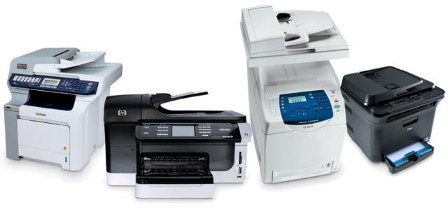 Top dhjetë printerët e muajit qershor 2011