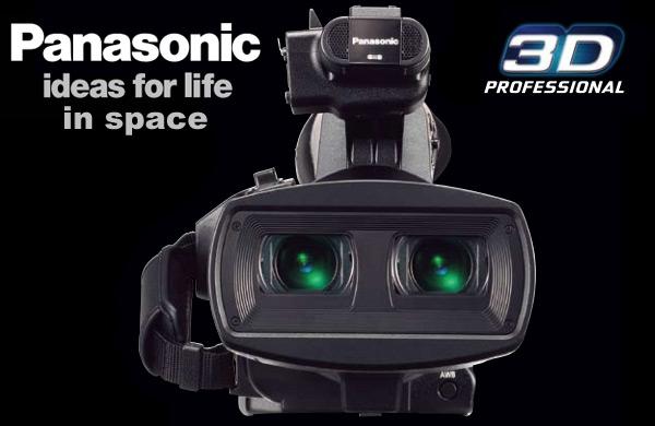 3D kamera e Panasonic në gjithësi