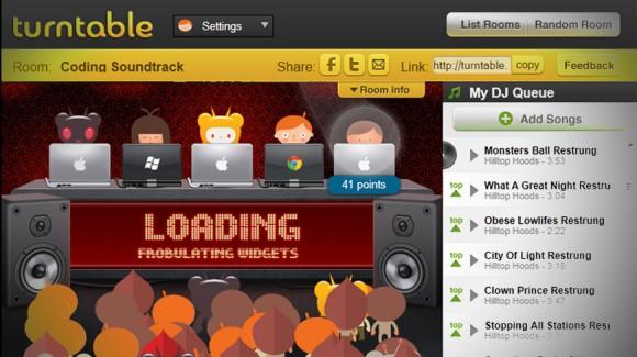 Turntable.fm me aplikacion pa pagesë për iPhone