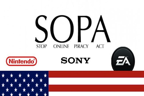 Nintendo nuk e mbështet më SOPA-n