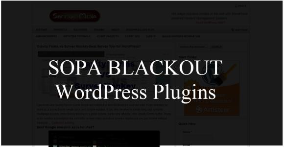 Kundërshtoni SOPA-n me shtojcën për WordPress