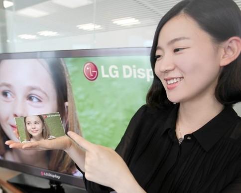 LG lajmëron prodhimin e ekraneve 5 inçësh për smartfonë