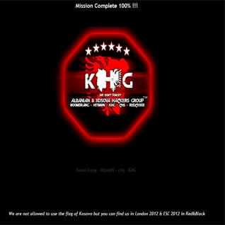 KHG sulmon Ueb faqen e qeverisë së Serbisë