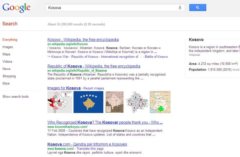 Vështrim i shërbimit të ri Knowledge Graph të Google
