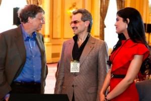 Bill Gates takon miliarderët