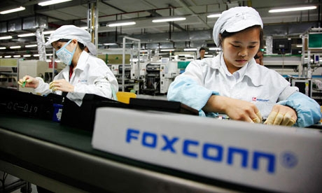 Foxconn investon 210 milionë dollarë në linjat prodhuese për produktet e Apple