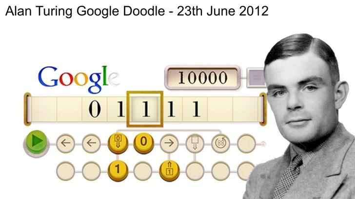 Google Doodle nderon matematicientin britanik
