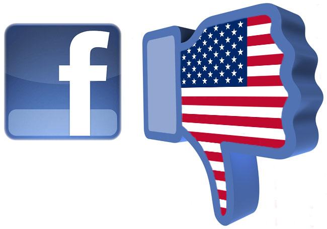 Rritja e rrjetit Facebook në ShBA shënon ngecje