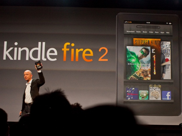 Tableti Kindle Fire 2 nis shitjet në korrik