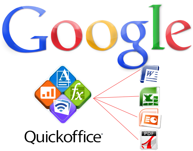 Google blen QuickOffice