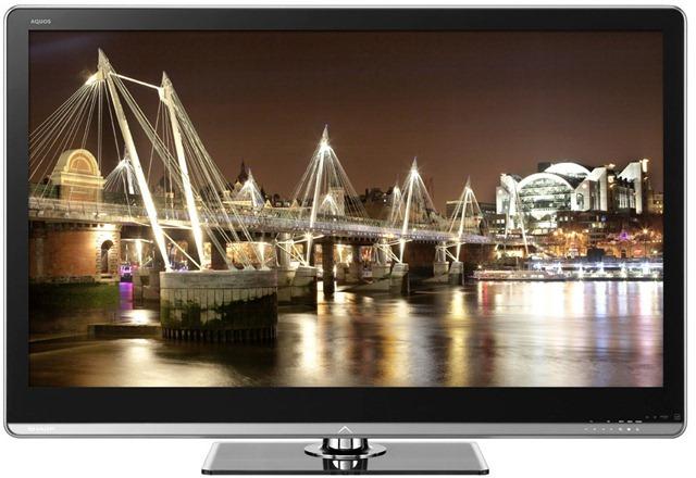 Sharp prezanton LED HDTV 90 inç, televizori më i madh që mund të blini