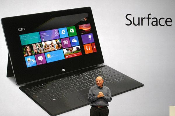 Surface të vijë më 26 tetor me Windows 8, thotë Microsoft