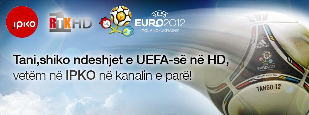 IPKO dhe RTK transmetojnë EURO 2012 në HD