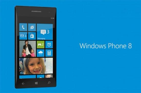 Vështrim ekranit startues të Windows Phone 8