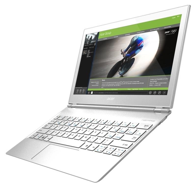 Acer prezanton Ultrabook Apire S7 me ekran me prekje dhe sistem operimi Windows 8