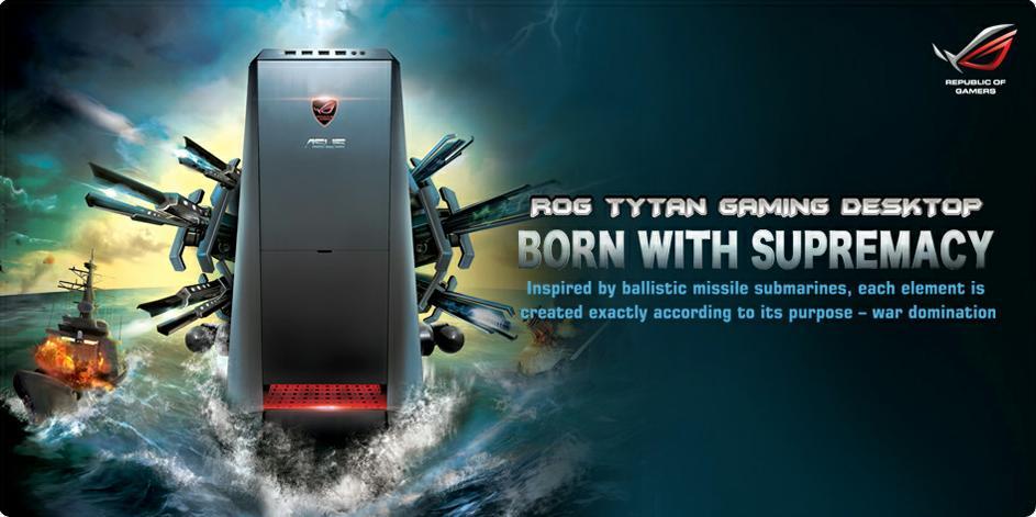 PC-ja e re Asus ROG Tytan transformohet me një të shtypur butoni