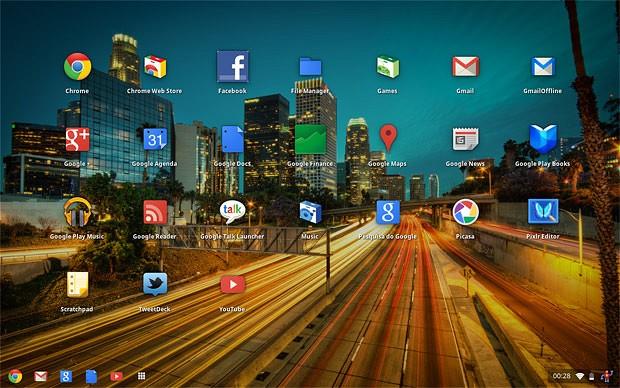 Google azhurnon sistemin operativ Chrome