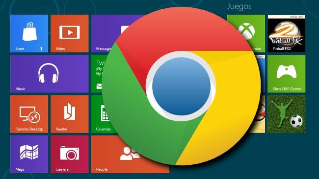 Hidhet në treg Chrome për Windows 8