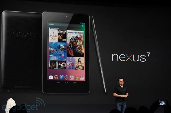 Paraqitet Google Nexus 7