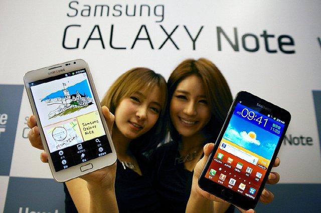 Samsung paralajmëron lansimin e Galaxy Note 2