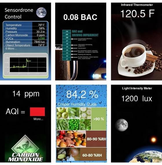 Sensordrone i jep mundësi smartfonit tuaj të masë temperaturën