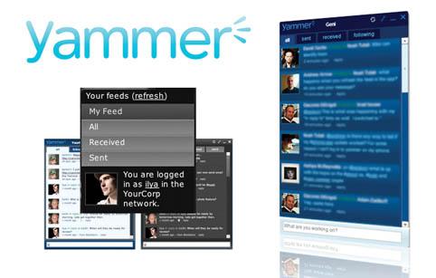 Microsoft të blej Yammer për 1 miliard dollarë