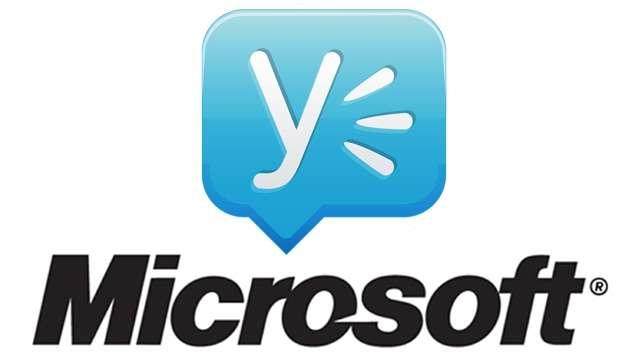 Microsoft blen rrjetin social Yammer