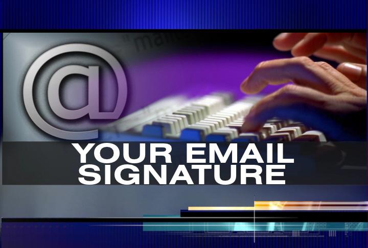 Gjashtë mënyra për të përmirësuar firmën tuaj të e-Mailit