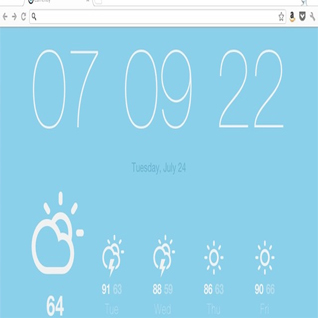 Chrome ofron parashikim të motit në kohë reale
