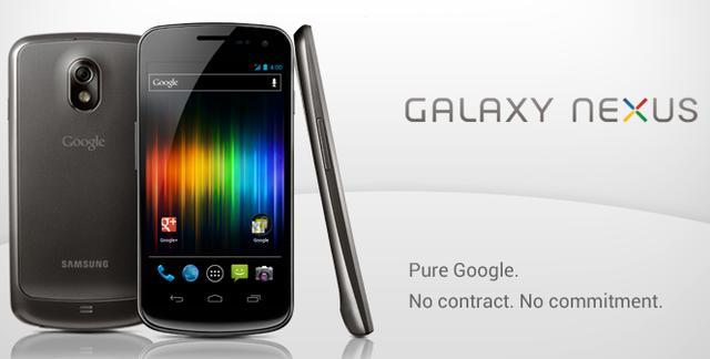 Galaxy Nexus s'mund të blihet nga faqja e Google Play