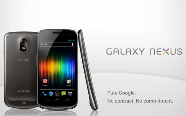Galaxy Nexus paraqitet sërish në Google Play