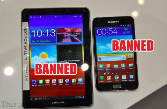 Gjykata gjermane ndalon shitjen e Samsung Galaxy Tab 7.7