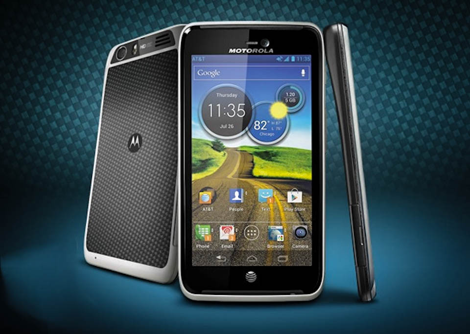 Prezantohet Motorola Atrix HD