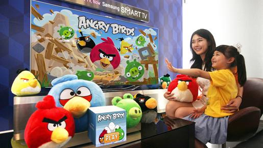 Rovio sjell Angry Birds në Smart TV të Samsung