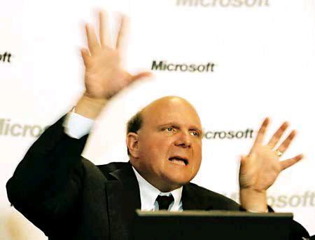 Ballmer: Microsoft konkurrent i fortë i Apple